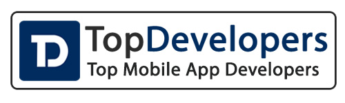 Top mobile app developers badge of recognition by TopDevelopers