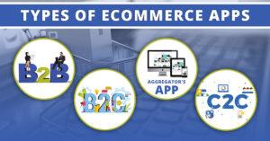 Types of eCommerce apps (B2B, B2C, Aggregator's App, C2C)