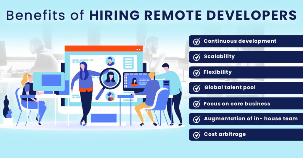 The advantages of hiring remote developers?