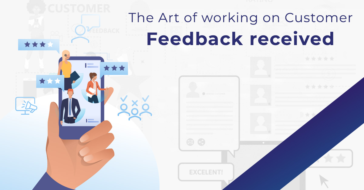 a step-by-step process to act on customer feedback