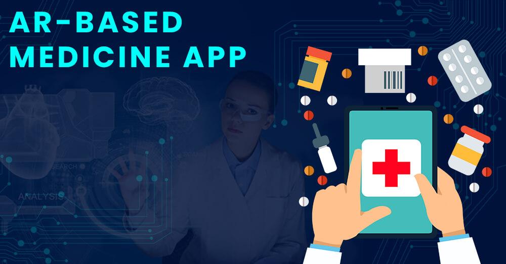 AR-based medicine app