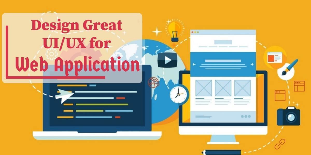 Design UIUX Web application