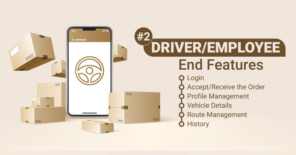Driver Employee-End-Features