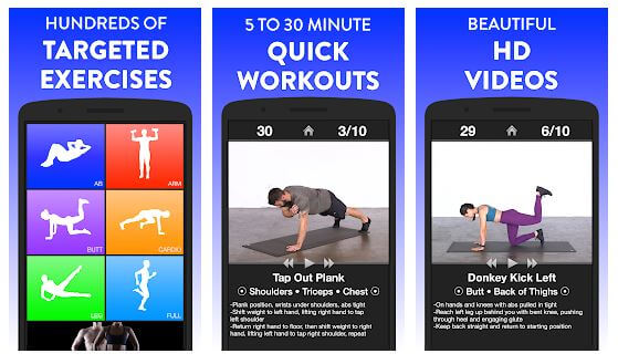 Exercise and Workout Apps