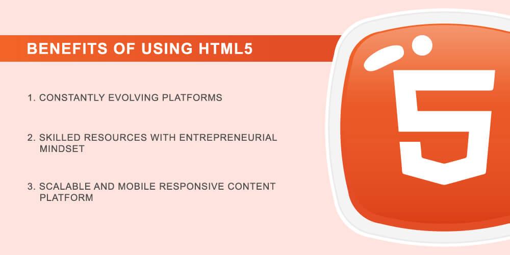 HTML 5 Benefits