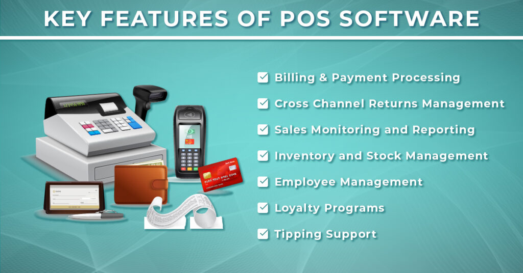 features of POS software