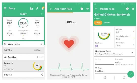 Nutrition and Diet Apps