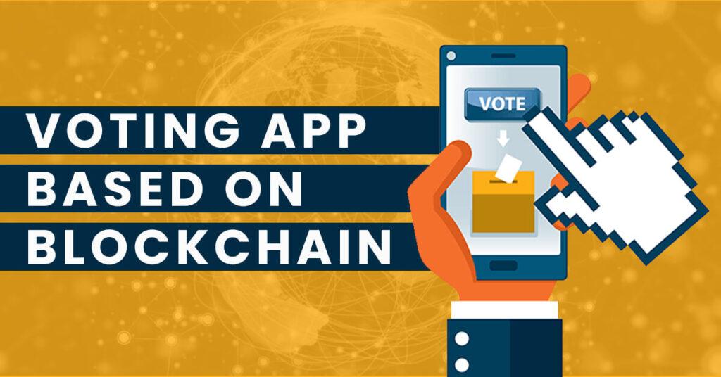 Blockchain-based voting app