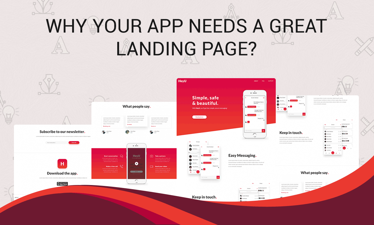 Why your app needs a great landing page