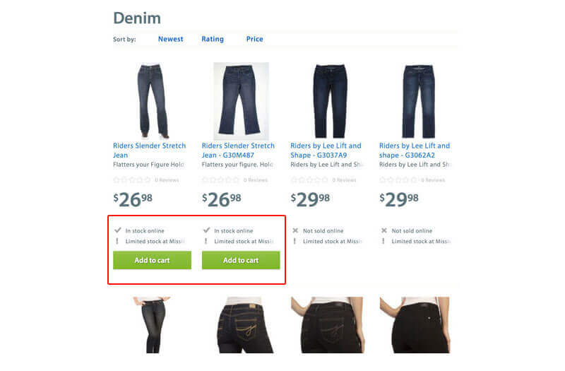 ecommerce-mobile-site-design-optimization-walmart-inventory-category-page