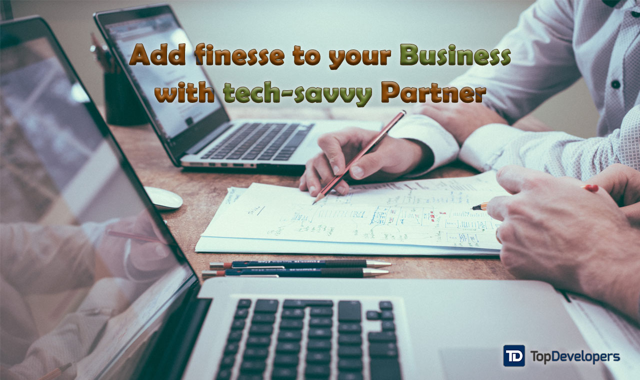 tech-savvy partner